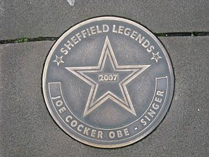 Sheffield Legends Joe Cocker