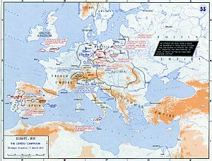 Strategic Situation of Europe 1813