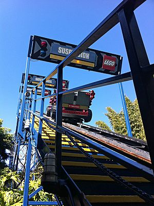 Technic Coaster lift hill