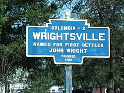 Official logo of Wrightsville, Pennsylvania