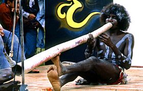 1981 Arnhemland Aboriginal Performance on Open Air Theatre
