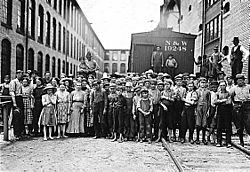 Child workers in Fries, Virginia