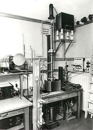 First Scanning Electron Microscope with high resolution from Manfred von Ardenne 1937