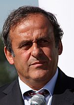 Michel Platini in Wroclaw by Klearchos Kapoutsis tight crop.jpg