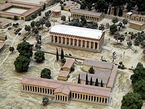 Model of ancient Olympia, British Museum6