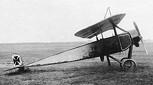 Morane-Saulnier Type L - Captured with german insigna