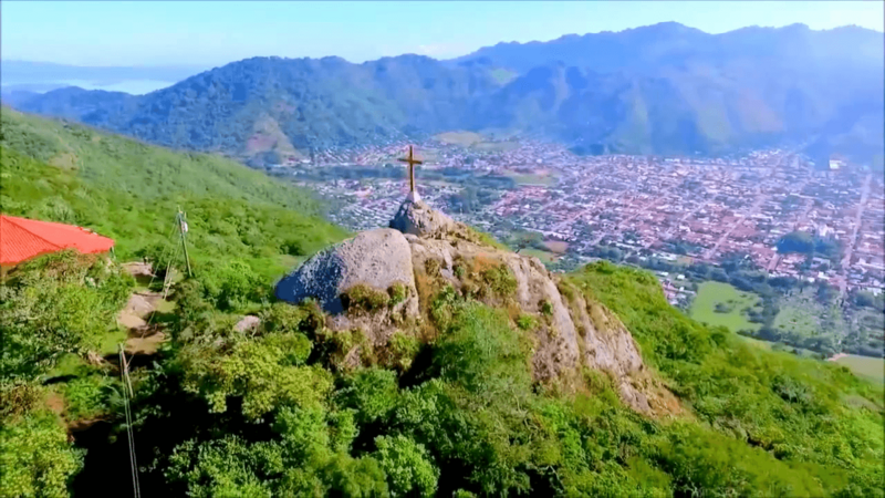 Peña de la Cruz in the city of Jinotega