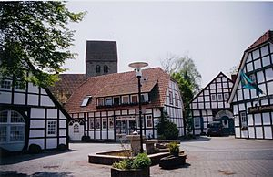 Town Square in Recke