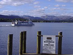Windermere Ferry heading towards Ambleside - geograph.org.uk - 1507573
