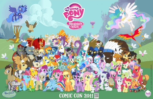 My little pony friendship is magic group shot r