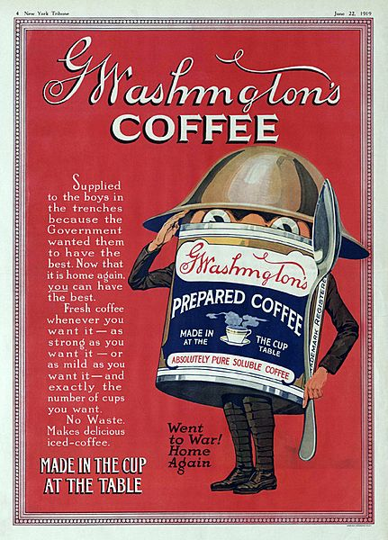 Washington Coffee New York Tribune