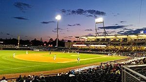 First Tennessee Park, April 20, 2015 - 2