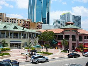 Mary Brickell Village westside