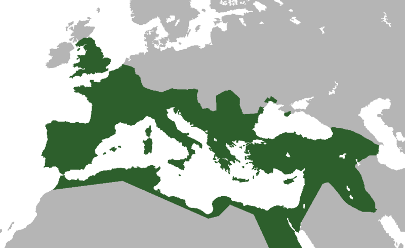 Roman Empire-117AD