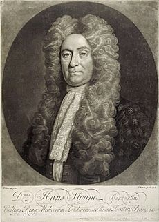 Sir Hans Sloane, an engraving from a portrait by T. Murray