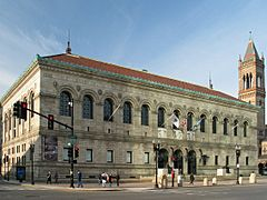 USA Boston Public Library 2 MA