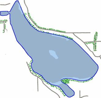 Wabee Lake Indiana Map.png