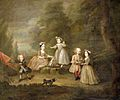 A House of Cards, William Hogarth, 1730