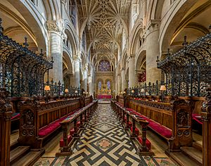 Christ Church Cathedral Interior 2, Oxford, UK - Diliff