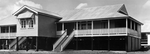 Queensland State Archives 1613 Boondall State School New Classroom and Teachers Room April 1951