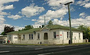 The old Owhango Post Office (c.1919)