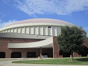 Another view of the Cajundome in Lafayette, LA IMG 5005