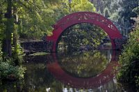 Moon bridge at Bellingrath Gardens