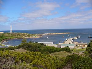 Currie Harbour-King Island-Australia