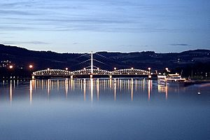 Danube in Linz