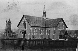 StateLibQld 1 109396 St. James Church of England, Toowoomba, 1869