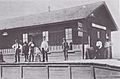 Fairbank Railroad Depot Arizona Circa 1900