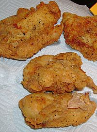 Friedchickenbreast