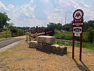 Monon Trail across Little Calumet River