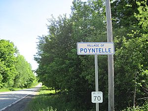 Poyntelle PennDOT Sign