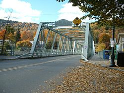 Shelburne Falls Truss Bridge
