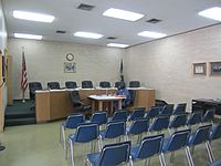 Springhill, LA, City Council chamber IMG 5155