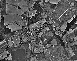 Aerial photo of Troy in 1994