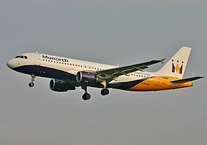 Airbus A320-200 Monarch Airlines GLA