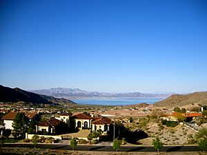 Boulder City, View of Lake Mead