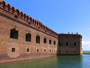 Fort Jefferson Ramparts