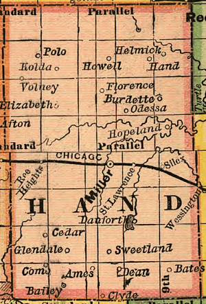 Hand County, South Dakota (1892)