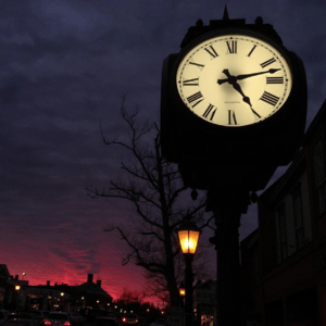 Moreno Clock New Canaan