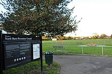 North Sheen Rec from Dancer Rd