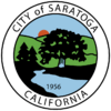 Official seal of City of Saratoga