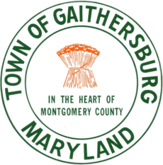 Seal of Gaithersburg, Maryland (former)