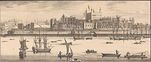 Tower of London, south, Buck brothers