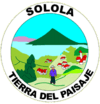 Coat of arms of Sololá Department