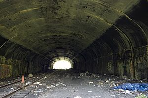 Erie Bergen Arch tunnel