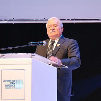 Lech Wałęsa, Łódź VIII European Economic Forum, October 2015 01