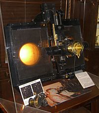 Tombaugh compared his photographic plates using this blink comparator.